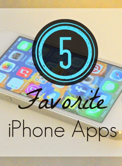 Friday 5: My Favorite Apps