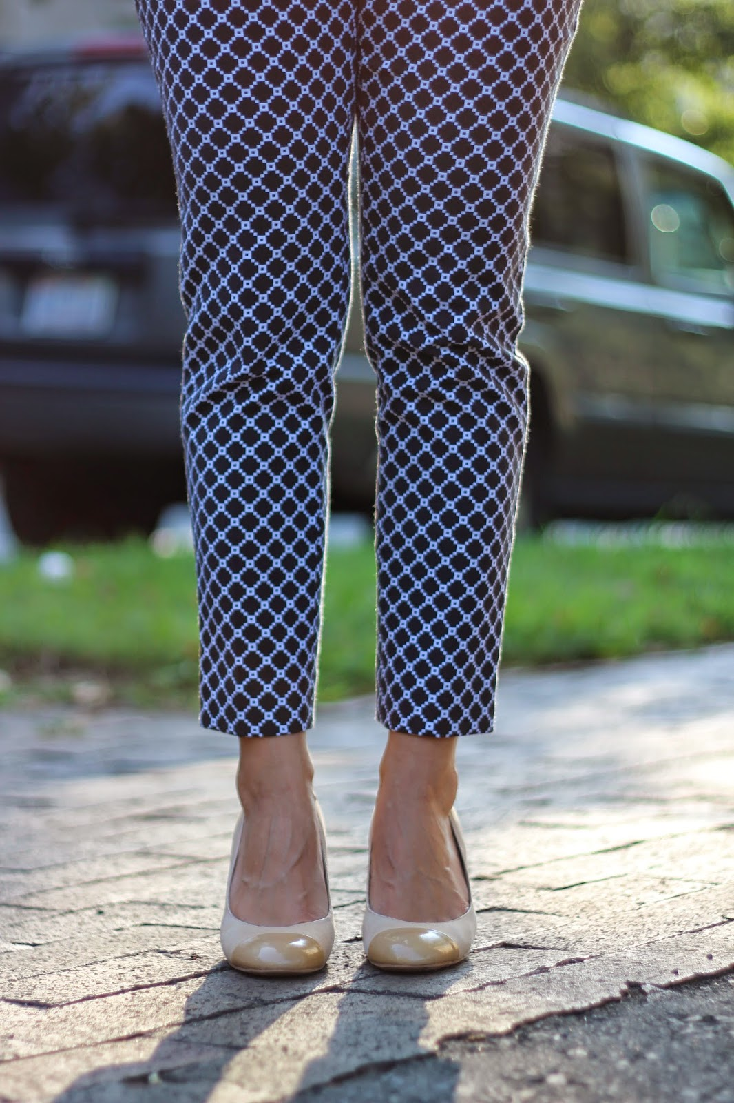 2019 year for girls- How to blue wear patterned pants