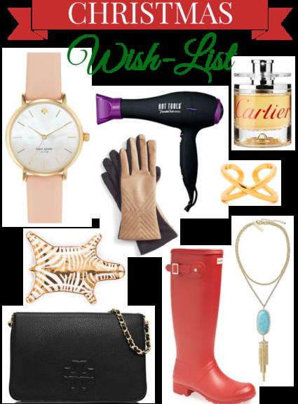 Favorite Things // My Christmas Wish-List