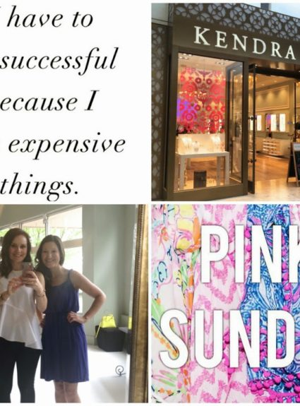 Weekending & Pink Sunday