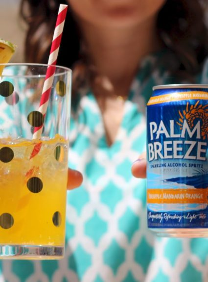#VacayEveryDay with Palm Breeze Spritzers