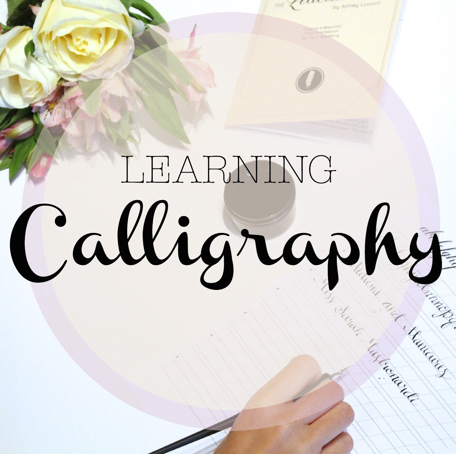 Wedding Wednesday Learning Calligraphy Medicine Manicures