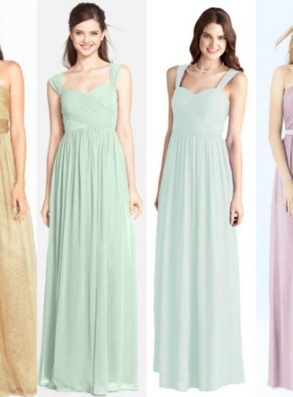 Wedding Wednesday: Bridesmaid Dress Decisions