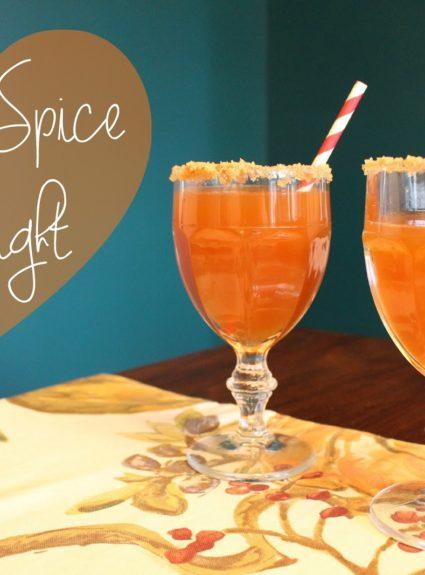 Fall Drink Recipe: Apple Spice Delight