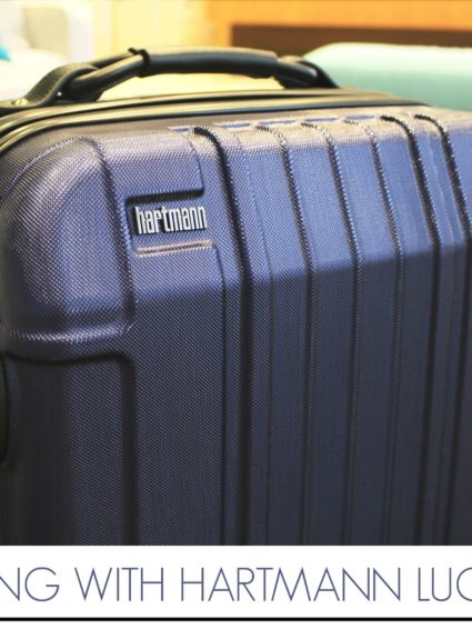 Traveling with Hartmann Luggage