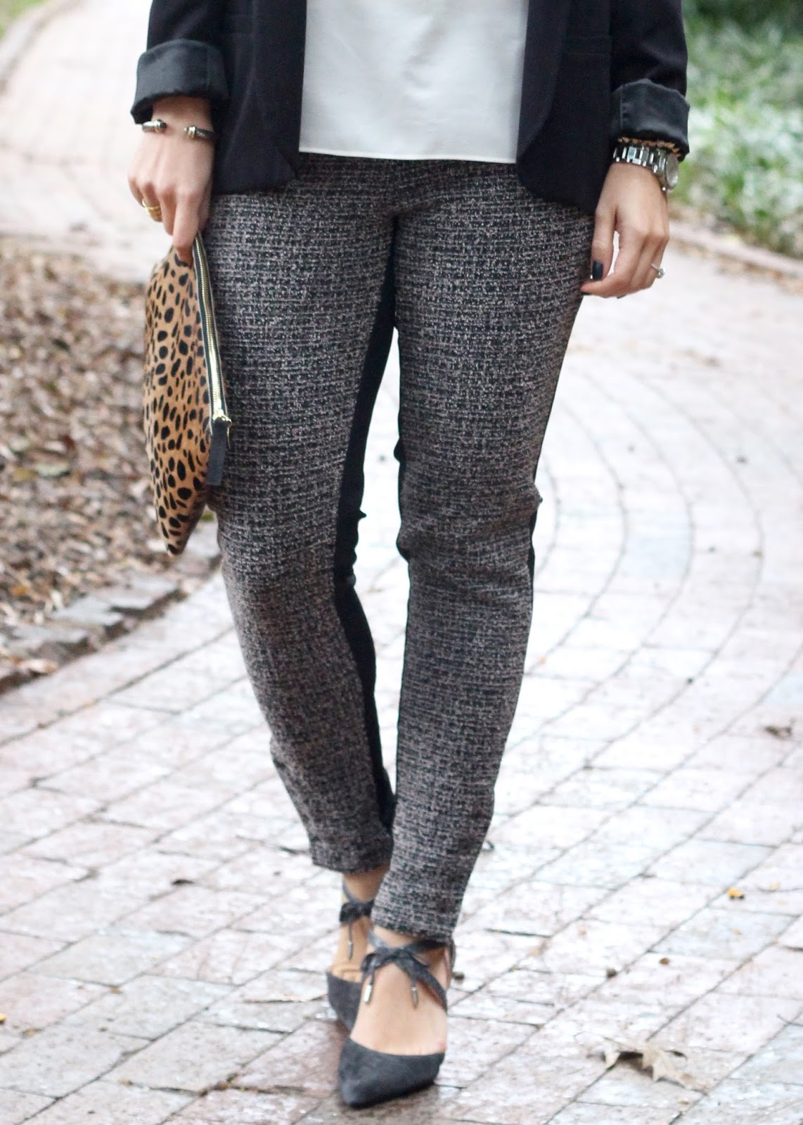 Tweed Leggings (That You Can Wear to Work!)