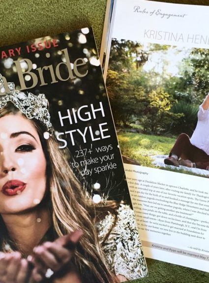Featured In… Carolina Bride!