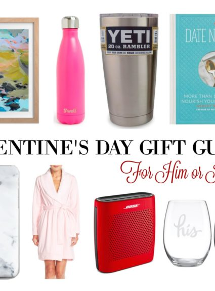 Valentine's Day Gift Guide: For Him or Her