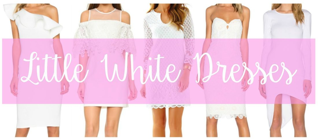 little white dresses, bridal shower dresses