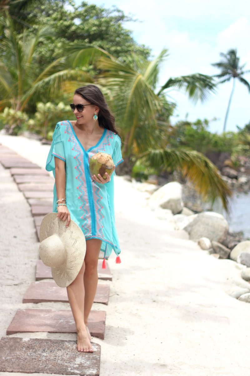 tassel beach coverup, sugar beach