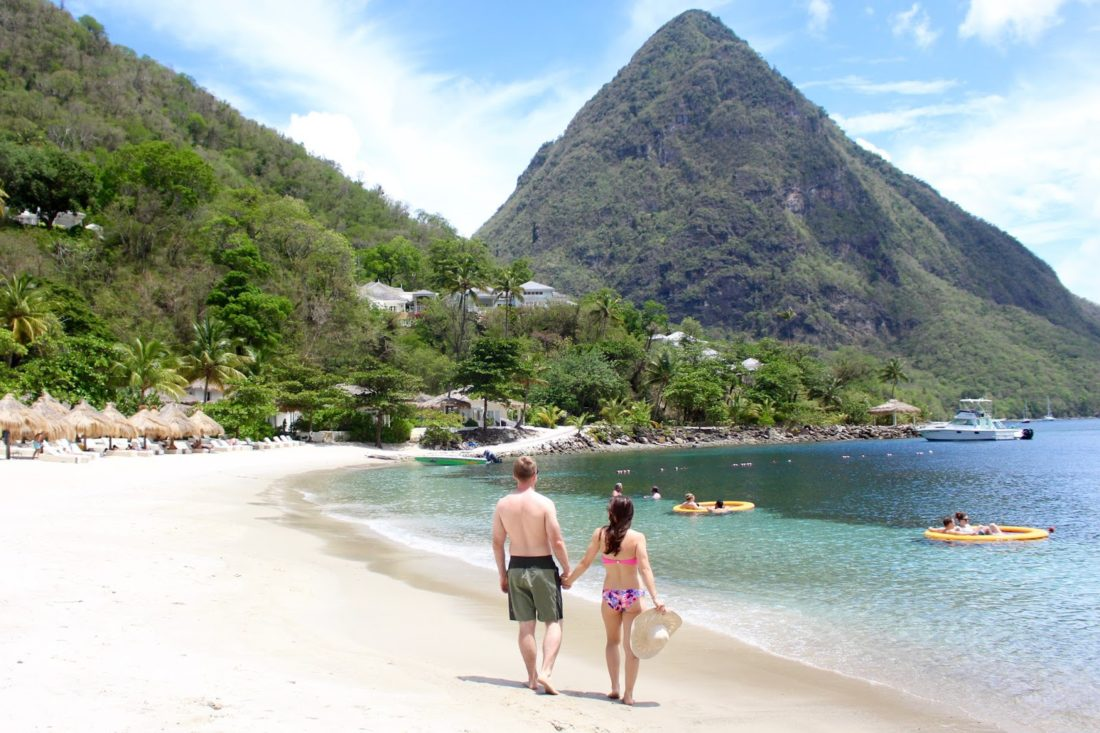 sugar beach resort st. lucia