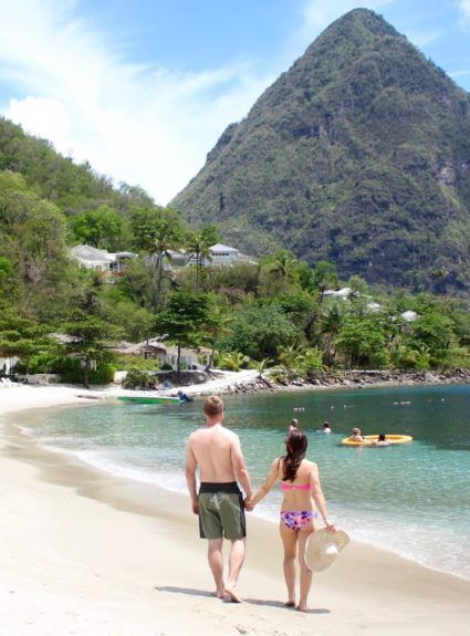 St. Lucia Honeymoon: Sugar Beach Resort