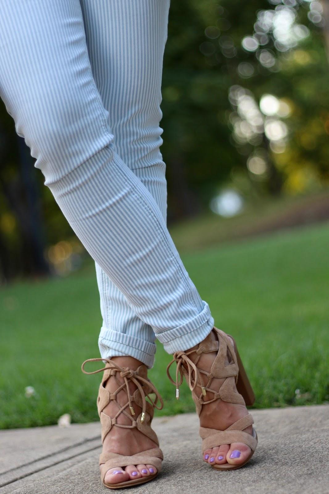 Sam Edelman Yardley lace-up heels