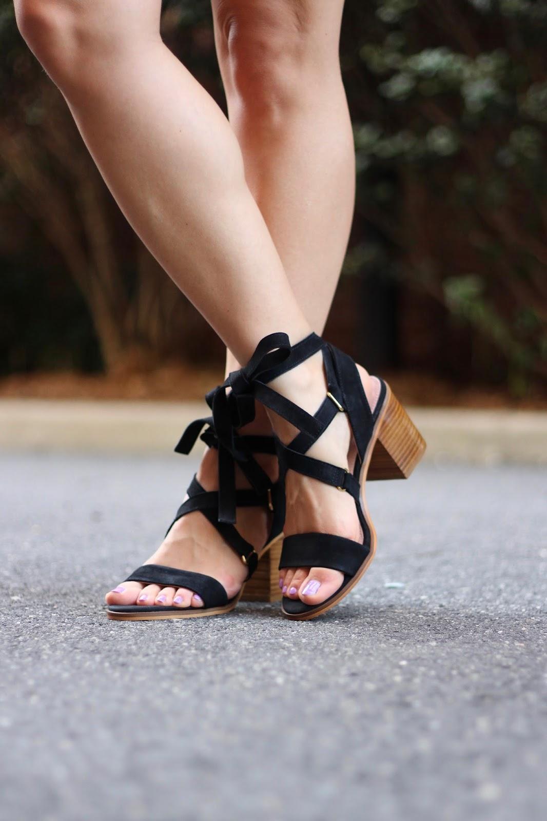 Topshop Nadra lace-up sandal