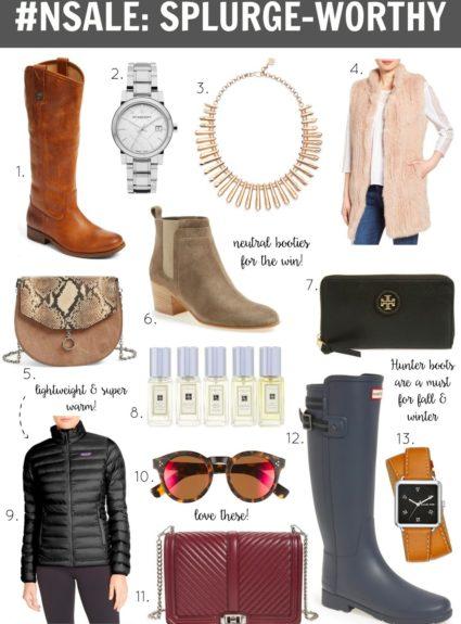 #NSALE Picks: Splurge-Worthy