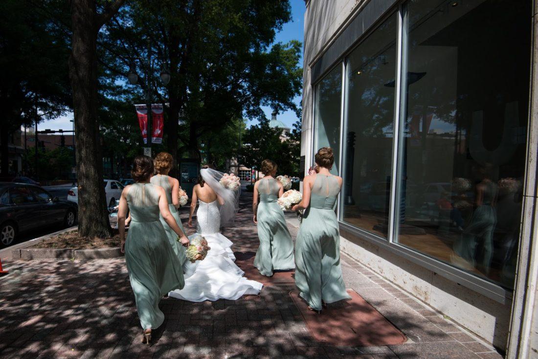 Foundation for the Carolinas wedding