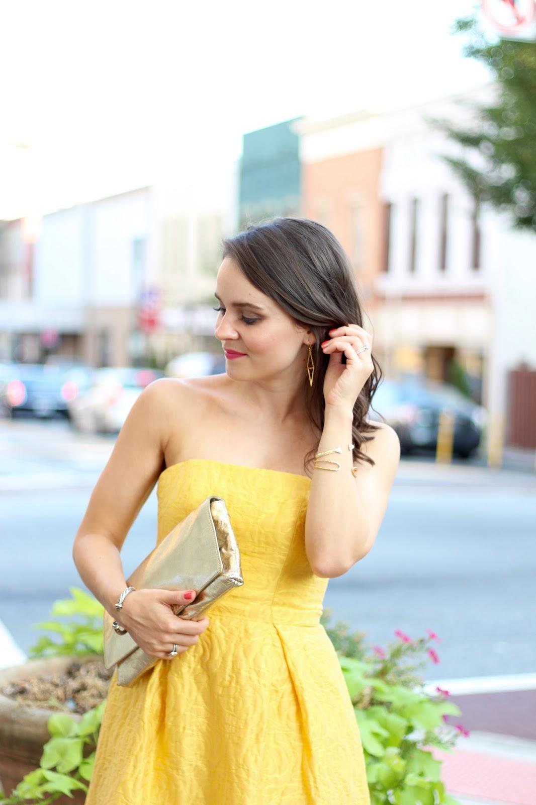 ML Monique Lhuillier Sunshine Day Gown