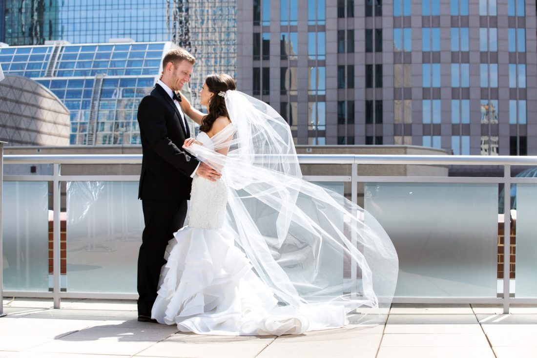 foundation for the carolinas wedding, uptown charlotte wedding