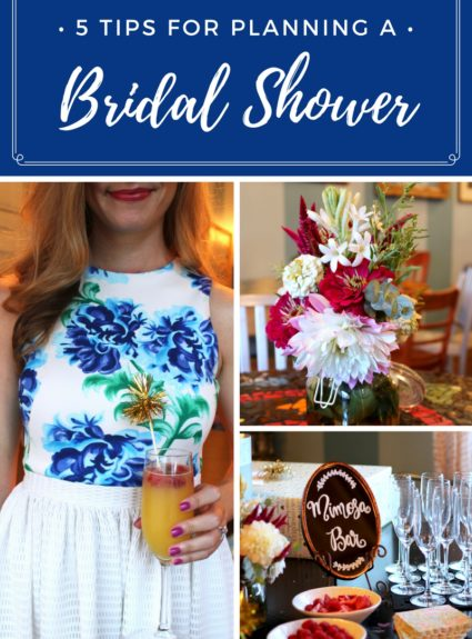 5 Tips for Planning a Bridal Shower