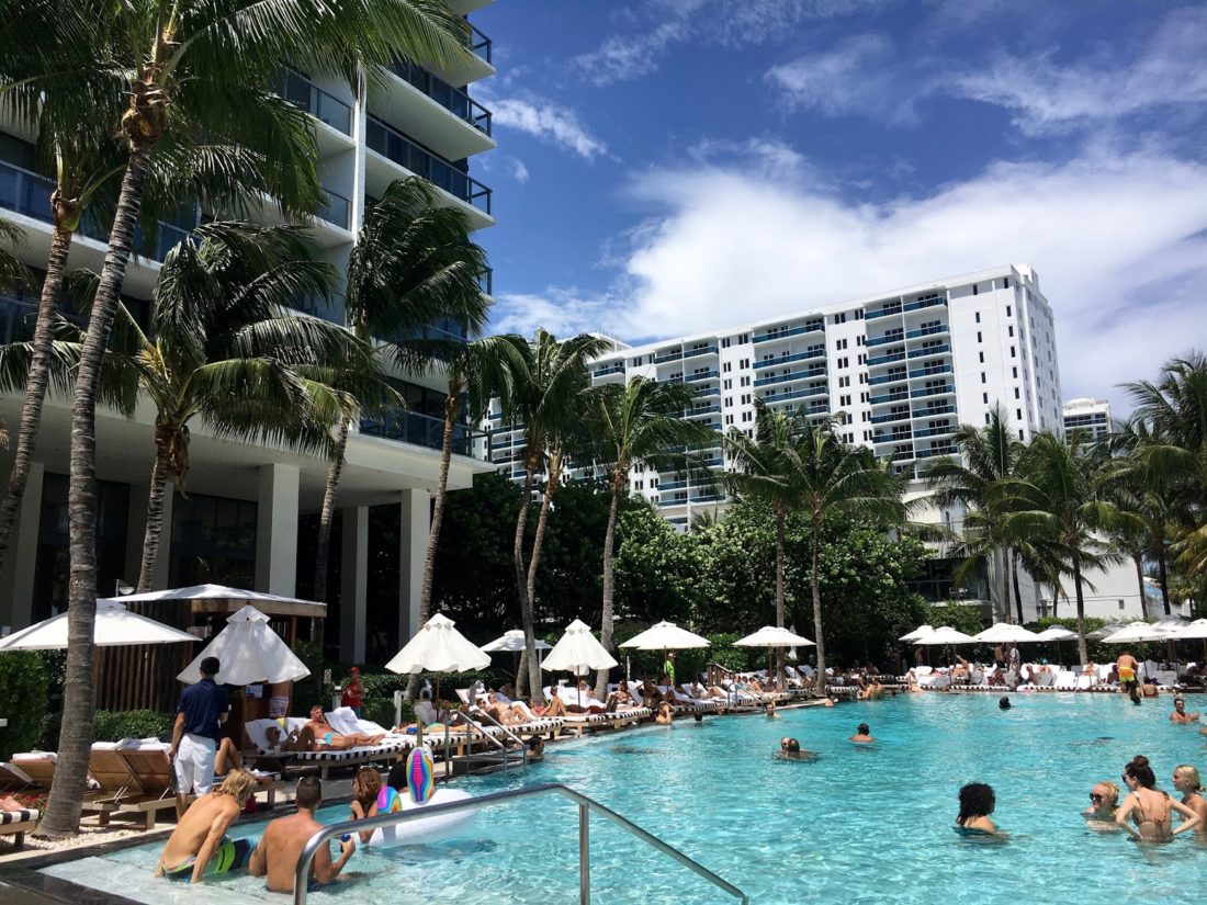 W south beach pool