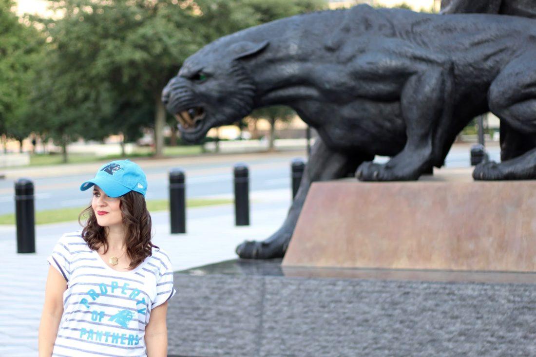 Carolina Panthers NFL Game Day style
