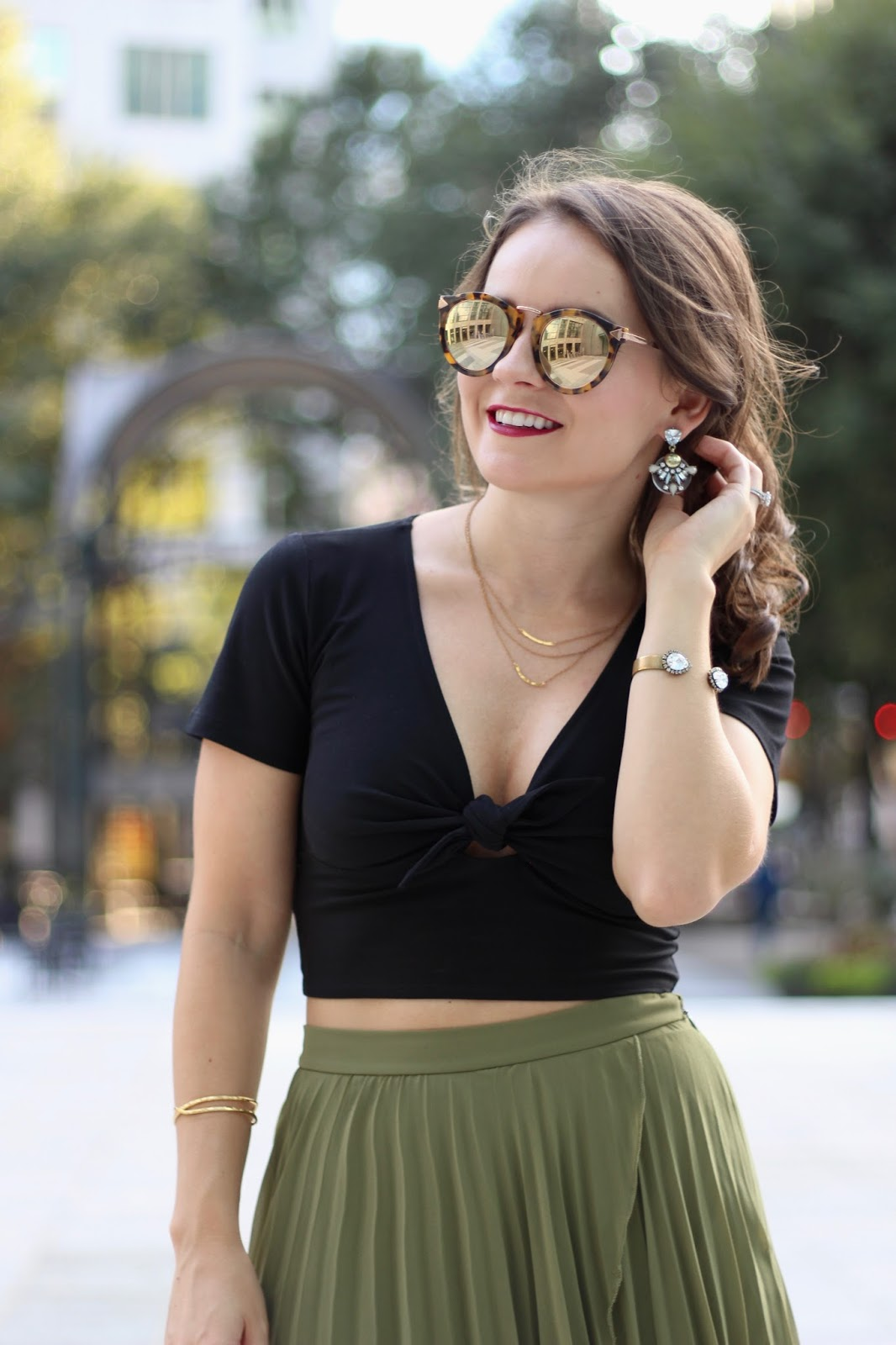 olive fall outfit