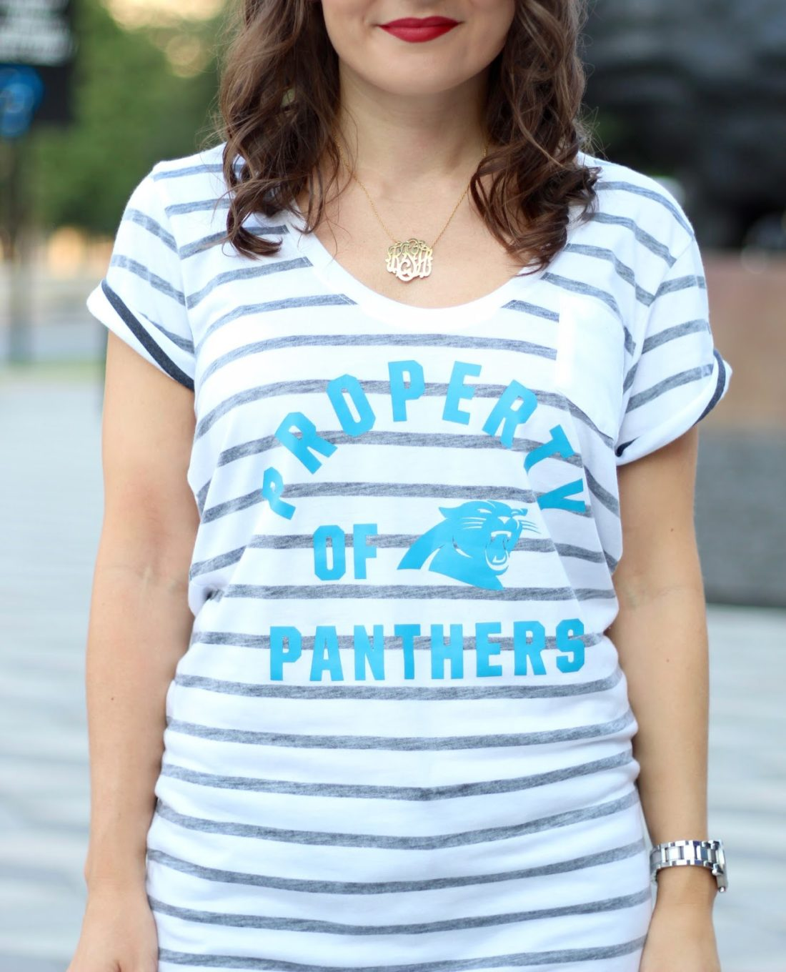 NFL Fan Style Carolina Panthers tee