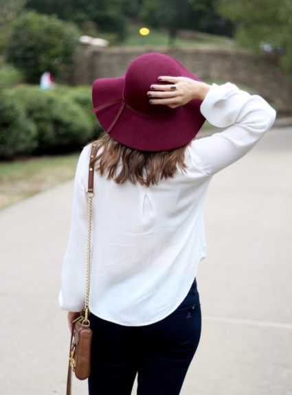 Fall Outfit: Tassel Swing Top