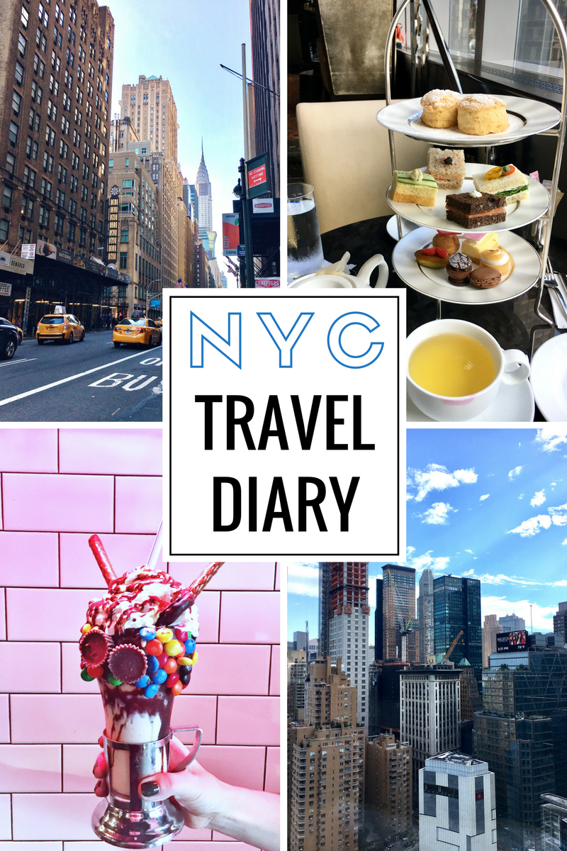 new york city travel diary