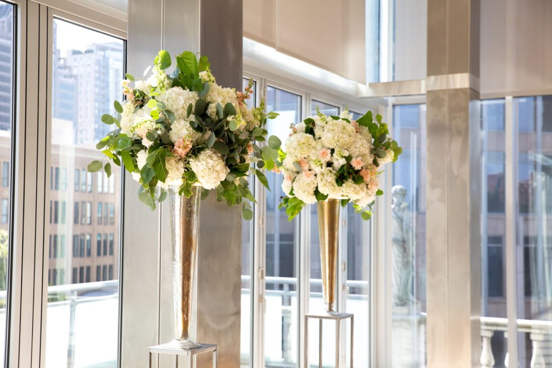wedding ceremony centerpieces