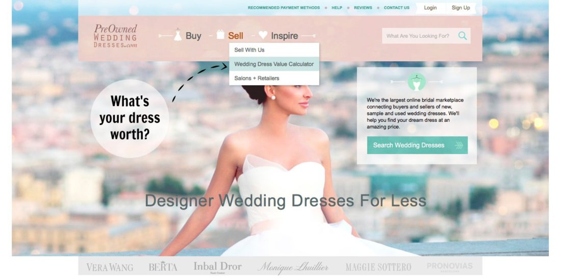 How to sell your wedding dress- preownedweddingdresses.com