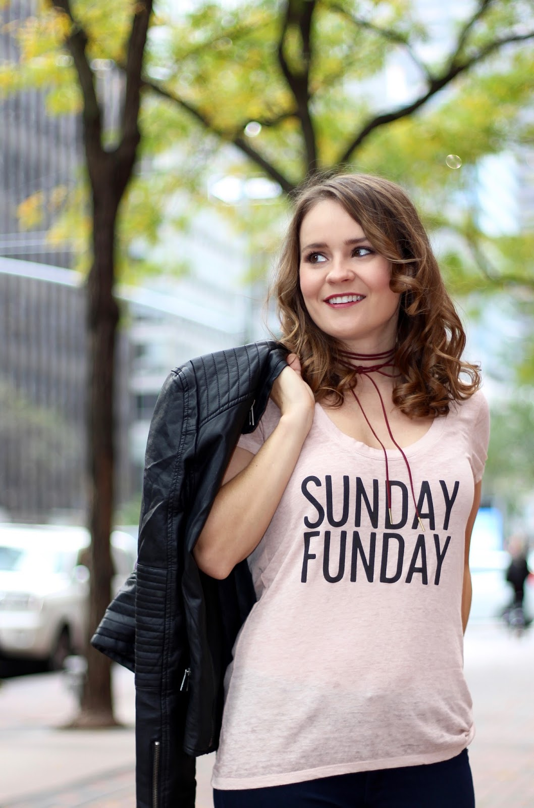 Express sunday funday tee