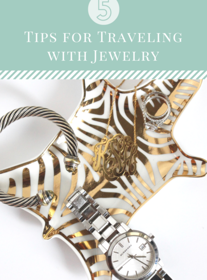 5 Tips for Traveling With Jewelry