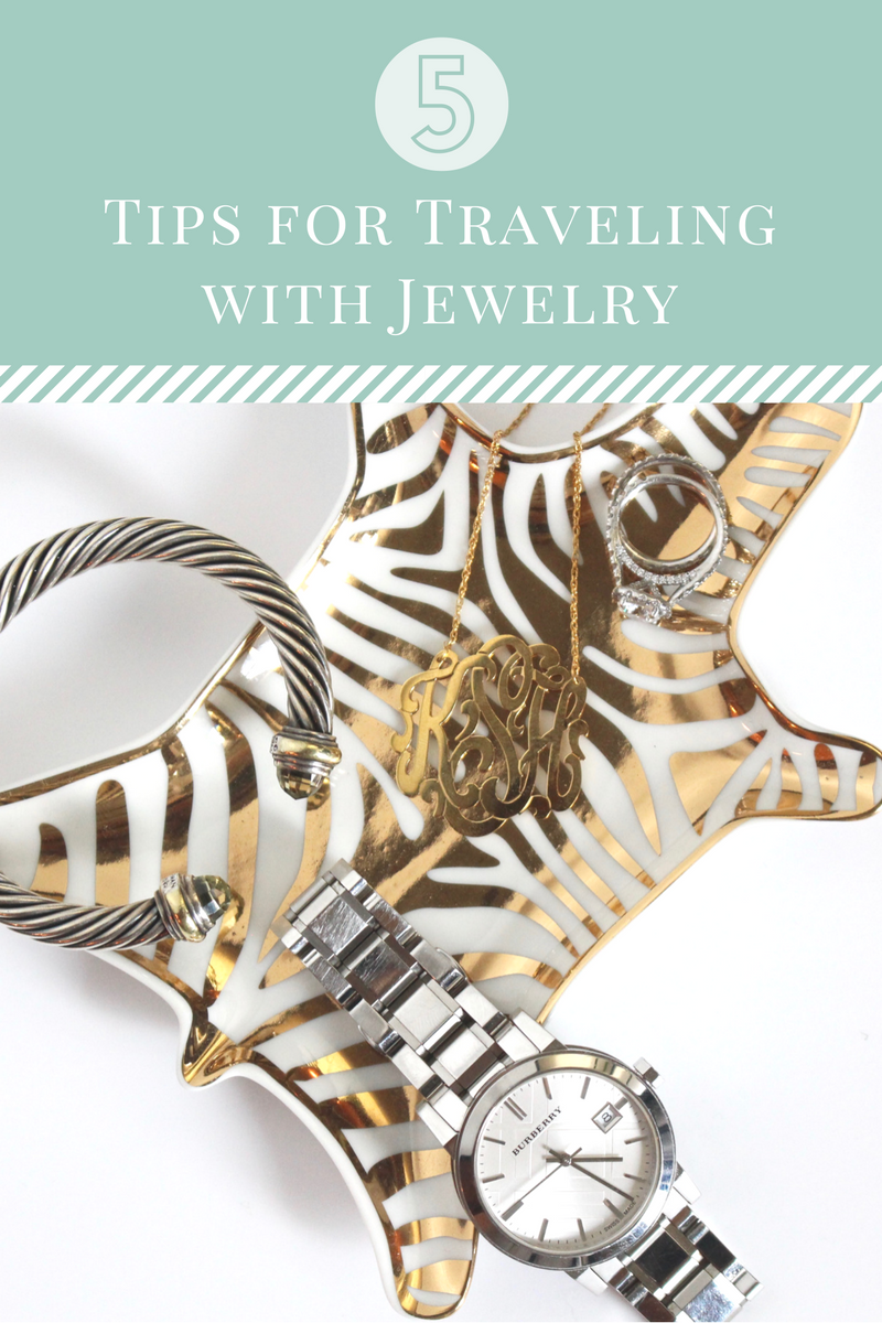jewelry travel tips
