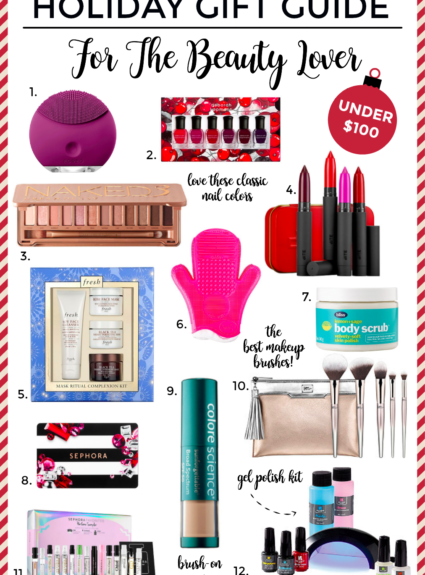 Holiday Gift Guide: Beauty Lover