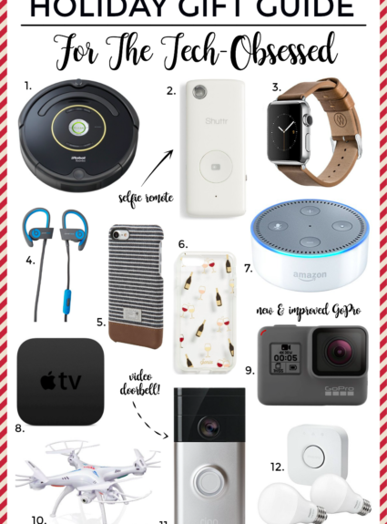 Holiday Gift Guide: Tech Obsessed