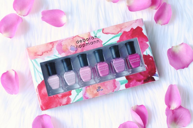 deborah lippman pretty in pink polish set, pink nail polish