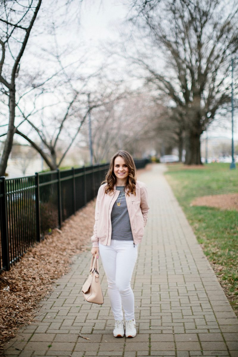 casual spring outfit, charlotte blogger
