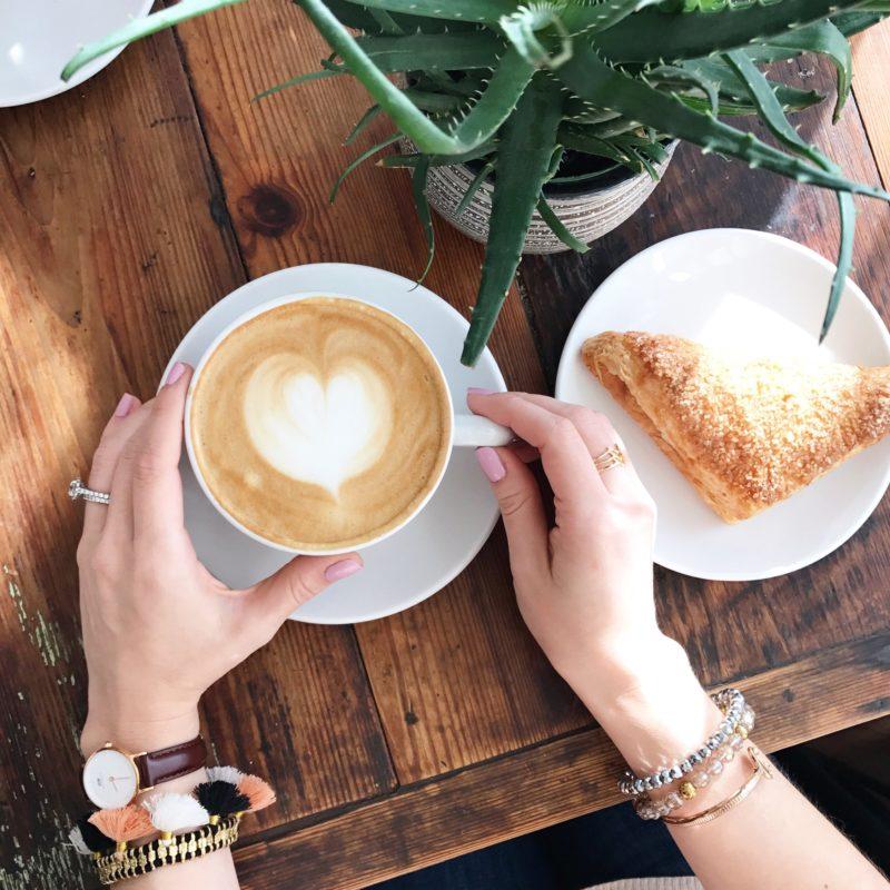 black tap coffee Charleston, latte art