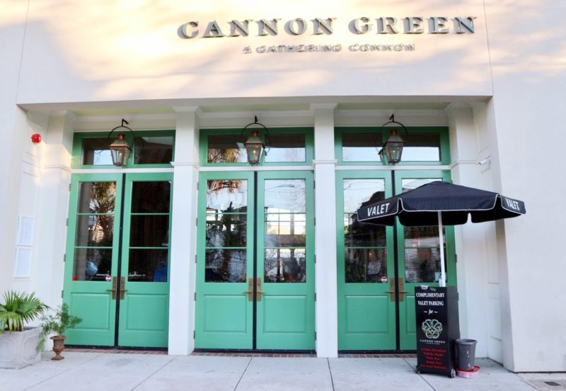 cannon green, happy hour charleston