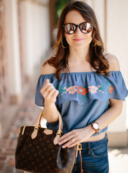 Spring Trends: Embroidery & Espadrilles