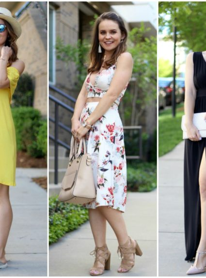 MMM with Boohoo: Mini, Midi and Maxi Dresses for Spring