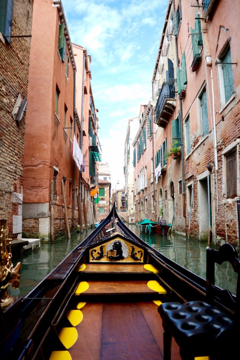 venice, gondola ride, venice travel guide