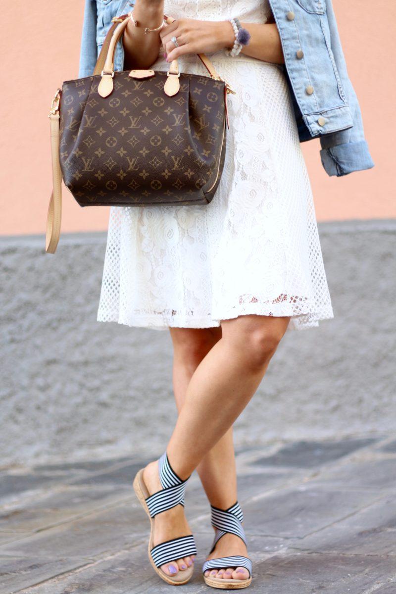 Charleston shoe company benjamin sandals, Louis Vuitton Turenne PM