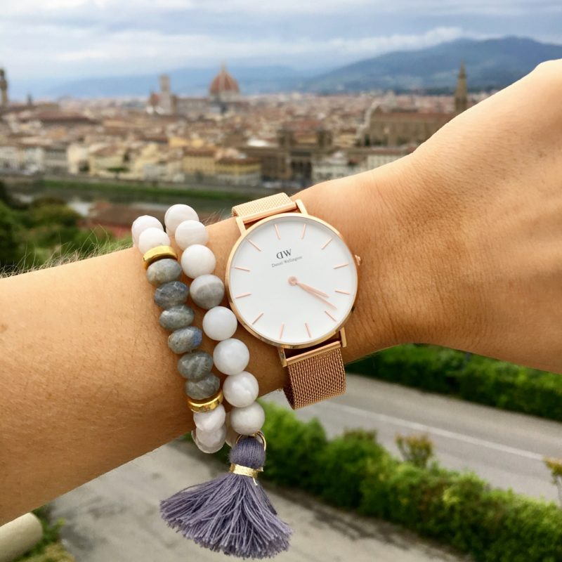 daniel wellington rose gold watch, Love's affect bracelets