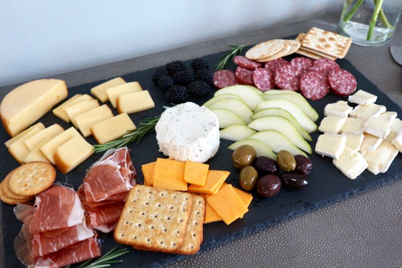 charcuterie board, slate cheese board