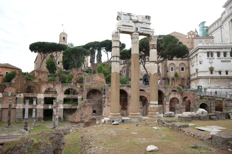 rome travel guide, roman forum