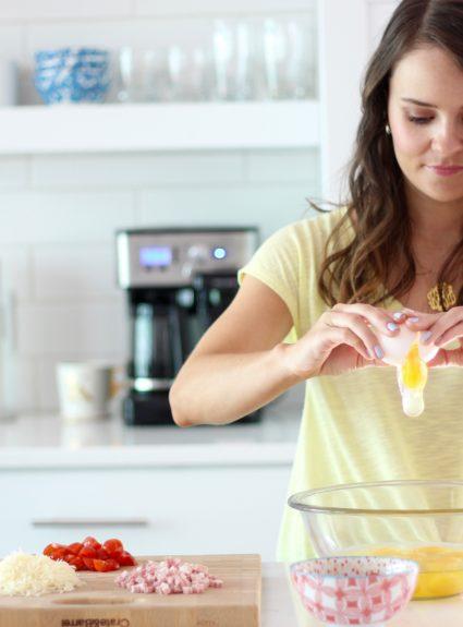 Easy Breakfast: Scrambled Egg Muffins