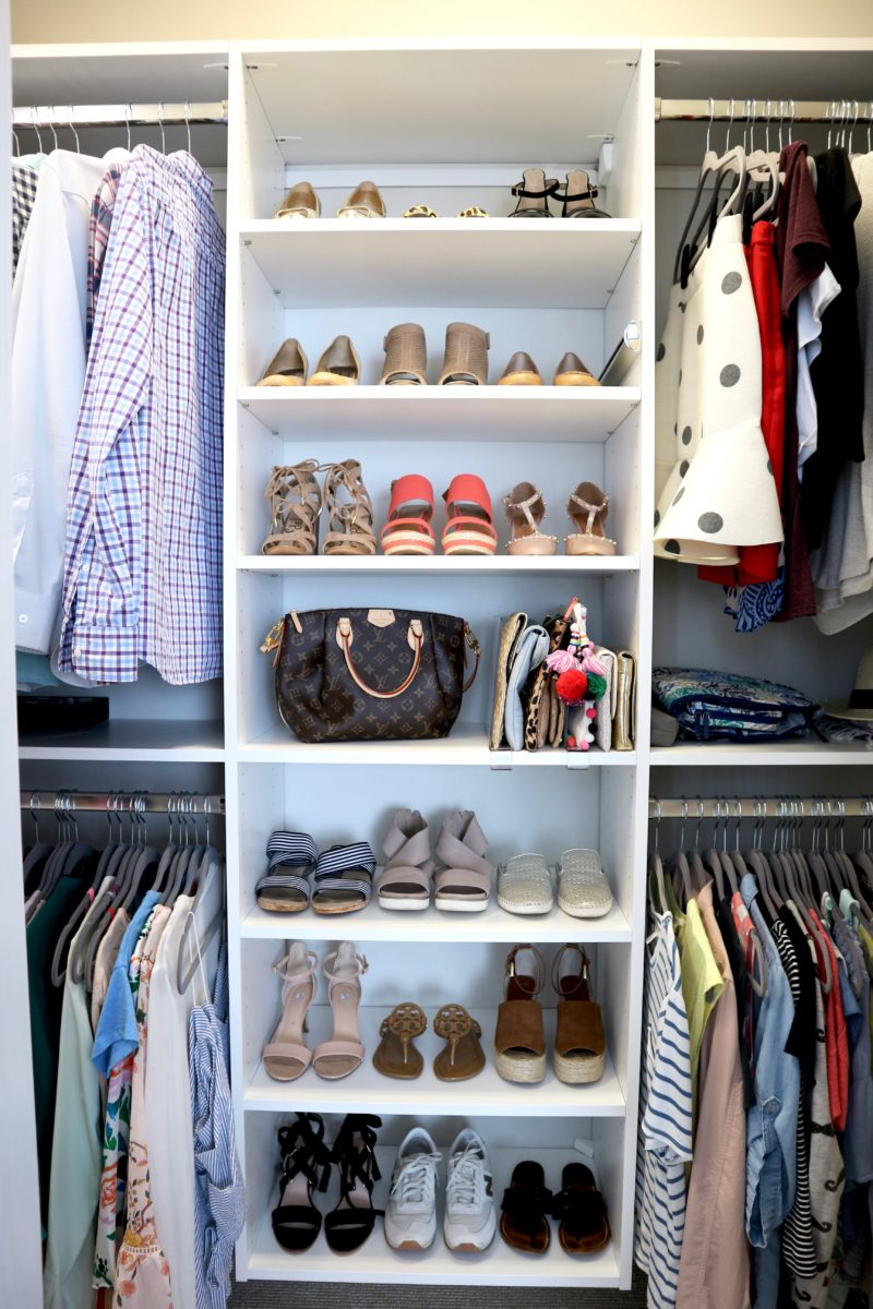 master closet tour, california closets