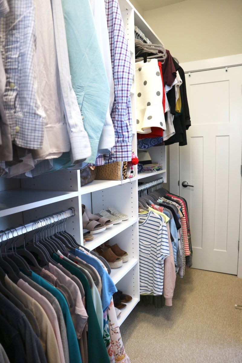 master closet tour